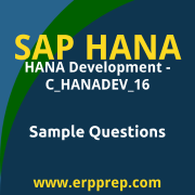 C_HANADEV_16 Dumps Free, C_HANADEV_16 PDF Download, SAP HANADEV 16 Dumps Free, SAP HANADEV 16 PDF Download, SAP HANA Development - C_HANADEV_16 Certification, C_HANADEV_16 Free Download
