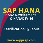 C_HANADEV_16 Syllabus, C_HANADEV_16 PDF Download, SAP C_HANADEV_16 Dumps, SAP HANADEV 16 PDF Download, SAP HANA Development - C_HANADEV_16 Certification