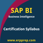 C_TBW45_70 Syllabus, C_TBW45_70 PDF Download, SAP BI PDF Download, SAP Business Intelligence Certification