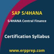 C_S4FCF_2020 Syllabus, C_S4FCF_2020 PDF Download, SAP C_S4FCF_2020 Dumps, SAP S/4HANA Central Finance PDF Download, SAP Central Finance in SAP S/4HANA Certification, C_S4FCF_1909 Syllabus, C_S4FCF_1909 PDF Download, SAP C_S4FCF_1909 Dumps