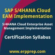 C_S4CAM_2008 Syllabus, C_S4CAM_2008 PDF Download, SAP C_S4CAM_2008 Dumps, SAP S/4HANA Cloud EAM Implementation PDF Download, SAP S/4HANA Cloud Enterprise Asset Management Implementation Certification