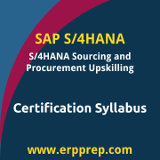 C_TS450_1909 Syllabus, C_TS450_1909 PDF Download, SAP C_TS450_1909 Dumps, SAP S/4HANA Sourcing and Procurement Upskilling PDF Download, SAP S/4HANA Sourcing and Procurement Upskilling for ERP Experts Certification, C_TS450_1809 Syllabus, C_TS450_1809 PDF Download, SAP C_TS450_1809 Dumps