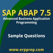 C_TAW12_750 Dumps Free, C_TAW12_750 PDF Download, SAP ABAP 7.5 Dumps Free, SAP ABAP 7.5 PDF Download, SAP ABAP with SAP NetWeaver 7.5 Certification, C_TAW12_750 Free Download