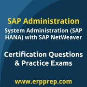 SAP Certified Technology Associate - System Administration (SAP HANA) with SAP N