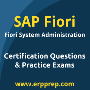 SAP Certified Technology Associate - SAP Fiori System Administration