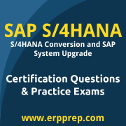 SAP Certified Technology Specialist - SAP S/4HANA Conversion and SAP System Upgr