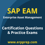 SAP ERP EAM Certification