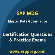 SAP Certified Application Associate - Master Data Governance