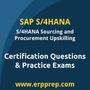 SAP Certified Application Associate - SAP S/4HANA Sourcing and Procurement - Ups