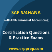 SAP Certified Application Associate - SAP S/4HANA for Financial Accounting Assoc
