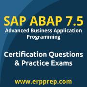 SAP Certified Development Associate - ABAP with SAP NetWeaver 7.50